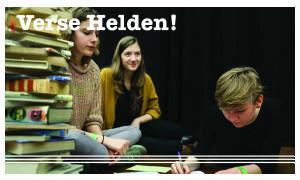 © foto: Kathleen Michiels, workshop: Jeugd&Poëzie vzw